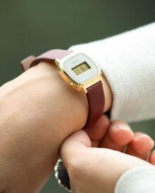 BEAMS BOY 【WEB限定】CASIO / LADY'S DIGITAL LA670WFL ビームス ウイメン ファッショングッズ 腕時計 レッド ネイビー ベージュ カーキ【送料無料】