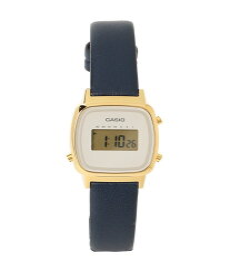 BEAMS BOY 【WEB限定】CASIO / LADY'S DIGITAL LA670WFL ビームス ウイメン ファッショングッズ 腕時計 ネイビー ベージュ【送料無料】