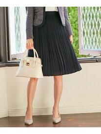 any SiS L 【洗える】フェアリージョーゼットプリーツスカート エニィスィス スカート スカートその他 ネイビー ブラック グレー【送料無料】