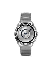 【SALE/70%OFF】EMPORIO ARMANI CONNECTED MATTEO ウォッチステーションインターナショナル ファッショングッズ 腕時計 シルバー【送料無料】