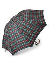 DK39 アフタヌーンティータータンチェック柄長傘・カバー付き(雨傘)