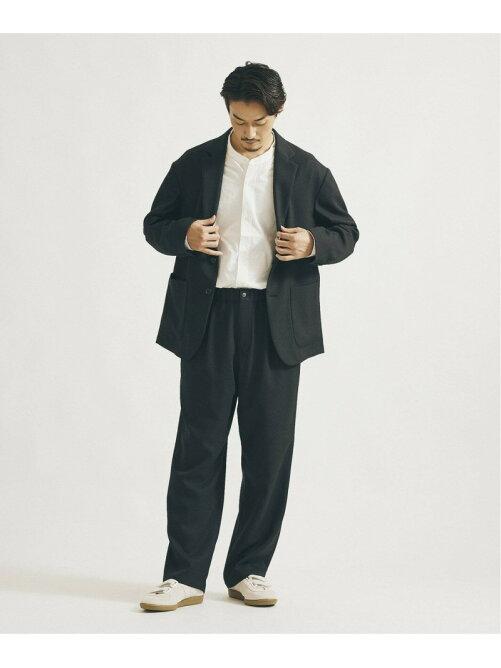 <<予約>>【ジャケット+パンツの2点SET】【DADS】メランジオックス セットアップ