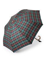 DK39 アフタヌーンティータータンチェック柄折りたたみ傘・カバー付き(雨傘)