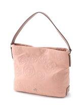 花柄刺繍ハンドバッグ