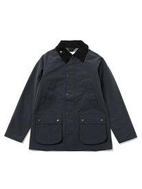 Barbour 別注BEDALE SL 3LAYER ナノユニバース コート/ジャケット ブルゾン ブラック グレー【送料無料】