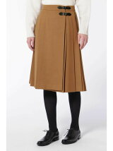 ウールキルトスカート