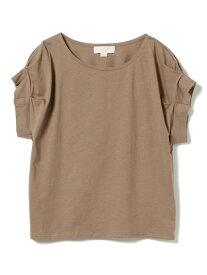 【SALE/30%OFF】B:MING by BEAMS B:MING by BEAMS / タックスリーブ Tシャツ 19SS ビームス ビーミング ライフストア バイ ビームス カットソー Tシャツ ブラウン ブラック オレンジ パープル グリーン