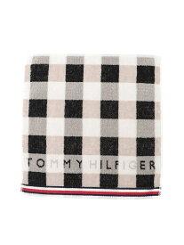TOMMY HILFIGER (M)TOMMY HILFIGER(トミーヒルフィガー) ハンドタオル (TS00001) トミーヒルフィガー ファッショングッズ ハンカチ/タオル ブラック ブルー ネイビー レッド