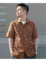 Subciety/(M)AFRICAN PAISLEY SHIRT