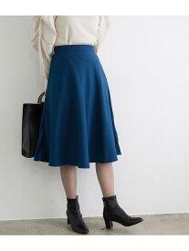 【SALE/10%OFF】ROPE' PICNIC プレミアムフィールフレアスカート ロペピクニック スカート スカートその他 グリーン ベージュ ネイビー ブラウン