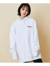 TOMMY JEANS/(M)TOMMY HILFIGER(トミーヒルフィガー) プリントロゴパーカー