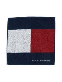 TOMMY HILFIGER (M)TOMMY HILFIGER(トミーヒルフィガー) TH FLAG MINI TOWEL トミーヒルフィガー ファッショングッズ ハンカチ/タオル ネイビー ブラック
