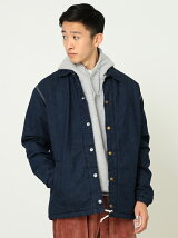 【別注】 Lee × BEAMS / Batting Denim Coach jacket