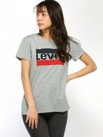 【SALE/50%OFF】Levi's (W)THE PERFECT TEE リーバイス カットソー Tシャツ グレー