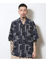Subciety/(M)PAISLEY DROP SHOULDER SHIRT