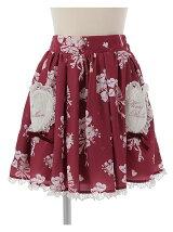 ハートバルーン柄スカート