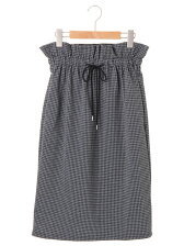 R&S 千鳥格子スカート
