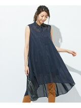 Cotton Voile ロングブラウス