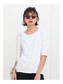 Ungrid BASIC ロングスリーブTee アングリッド カットソー Tシャツ ホワイト グレー ブラック【送料無料】