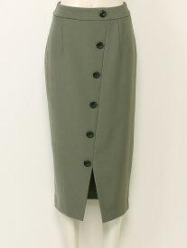 【SALE/60%OFF】31 Sons de mode フロントボタンロングタイトスカート トランテアン ソン ドゥ モード スカート【RBA_S】【RBA_E】