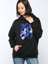 【WEGO】【BROWNY】(L)コズミックプリントパーカ3