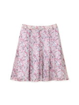 ◆大きいサイズ◆フラワープリントエスパンディスカート