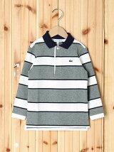 (K)BOYSボーダーポロシャツ(長袖)