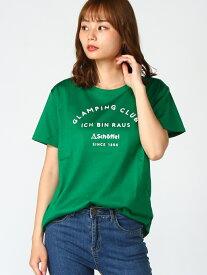 Schoffel (W)UV COTTON T-SHIRT GCI ショッフェル カットソー Tシャツ グリーン ホワイト【送料無料】