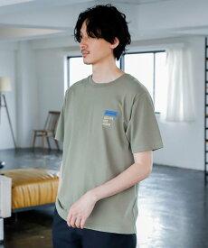 GLOBAL WORK (M)WGGW/Lo-Fi グローバルワーク カットソー Tシャツ カーキ ネイビー ピンク ブラック ベージュ ホワイト