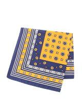 パネル小紋柄スカーフ