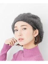 シャギーベレー帽