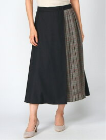 【SALE/60%OFF】DECOY SINCE 1981 ラップ風スカート デコイシンス1981 スカート ロングスカート ネイビー レッド