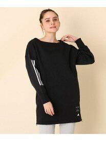 Couture brooch 【WEB限定販売】adidas(アディダス)スウェットトレーナー クチュールブローチ カットソー パーカー ブラック ブラウン【送料無料】