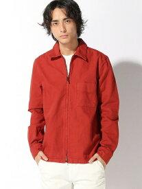 【SALE/50%OFF】nudie jeans nudie jeans/(M)Sten Zip ヌーディージーンズ / フランクリンアンドマーシャル コート/ジャケット コート/ジャケットその他 レッド ブルー【送料無料】