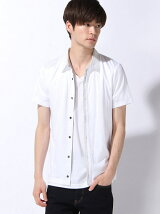ユリスモークジャカードシャツ