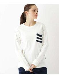 BASECONTROL 長袖TシャツニットポケットWEB限定11255 ベース ステーション カットソー Tシャツ ホワイト ネイビー ブラック