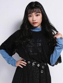 【SALE/52%OFF】ZIDDY 【ニコプチ掲載】ハイネック ロゴ 刺繍 Tシャツ(130cm~160cm) ベベ オンライン ストア カットソー Tシャツ ブルー ブラック グリーン ブラウン