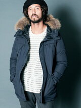 NYLON MOUNTAIN DOWN COAT