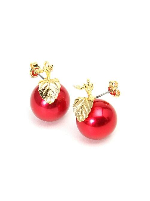 *apple pierced earrings