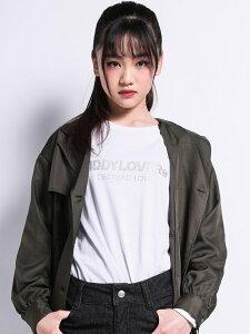 【SALE/68%OFF】ZIDDY 【ニコプチ掲載】ロゴ ストーン Tシャツ(130cm~160cm) ベベ オンライン ストア カットソー Tシャツ ホワイト ブラウン オレンジ