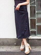 [sw]プチハートフリルロングスカート