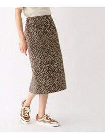 【SALE/30%OFF】DRESSTERIOR レオパードジャガードタイトスカート ドレステリア スカート スカートその他【送料無料】
