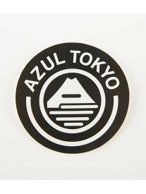 【SALE/50%OFF】AZUL by moussy FUJIステッカー アズールバイマウジー バッグ バッグその他 ブラック