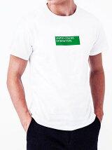 (M)【予約】グリーンボックスロゴTシャツ・カットソー(男女兼用) 【関西コレクションにて着用】