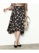 【sweet×ViSコラボ】ベルト付きフィッシュテールスカート