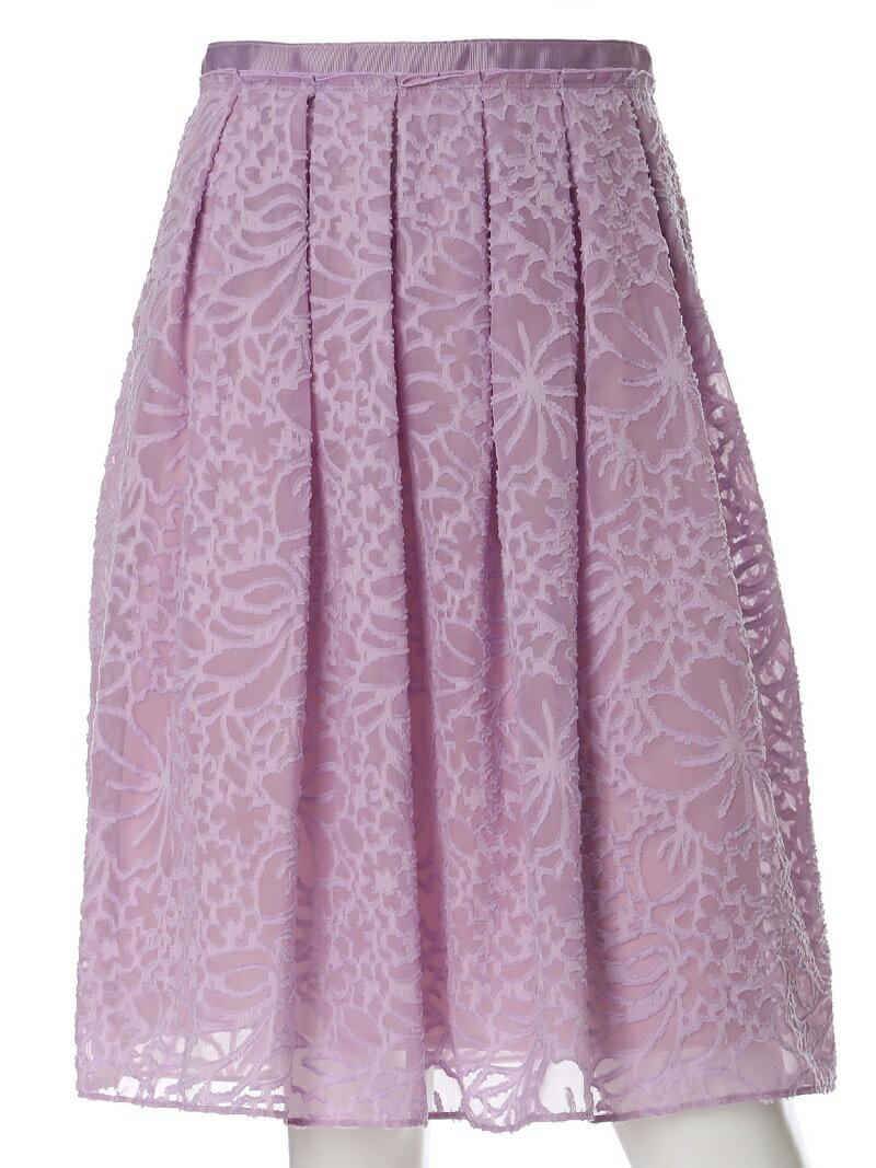 【SALE/60%OFF】CLEAR IMPRESSION カットジャガードスカート クリアインプレッション スカート【RBA_S】【RBA_E】