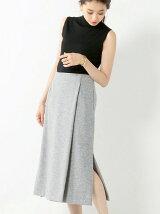 SACRA ウール ラップスカート / サクラ