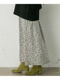 Sonny Label レオパードナロースカート サニーレーベル スカート スカートその他 ホワイト グレー ブラウン【送料無料】