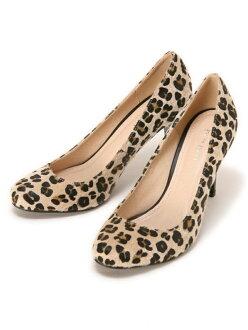 LAISSE PASSE レオパードハラコパンプス レッセパッセ 신발