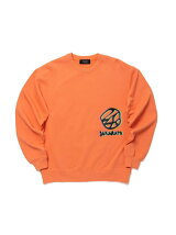 24karats/(M)Distorted Logo Crew Sweat